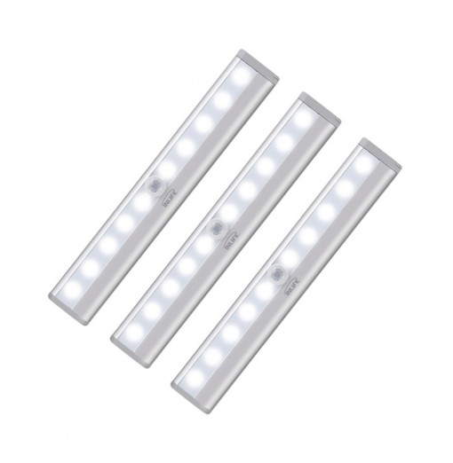 3PCS Inlife LB - 8119 - 5 LED Light with Remote Control