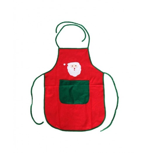 YEDUO Nonwoven Santa Claus Apron Free Size for Birthday / Christmas Day