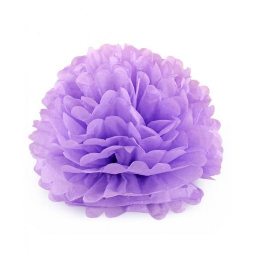 Colorful Diy 8 Inch Tissue Paper Artificial Flower Ball Wedding Decoration Artifact Light Purple 2548822714