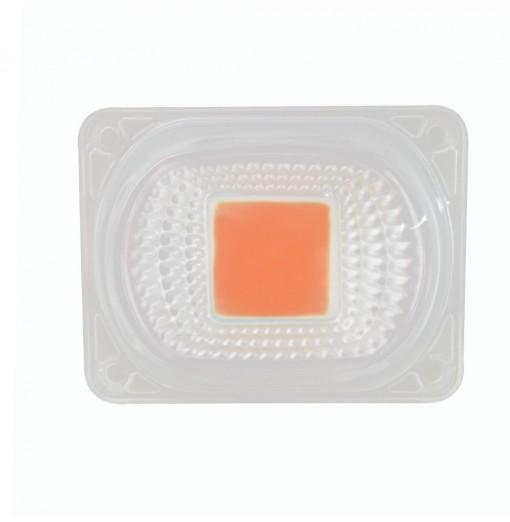 50W 220V DIY COB LED Chip with Lens Full Spectrum Plant Grow Chip