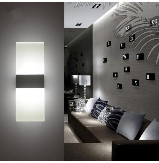 Modern Rectangular Style LED Corridor Living Room Bedroom Lamp Wall Light