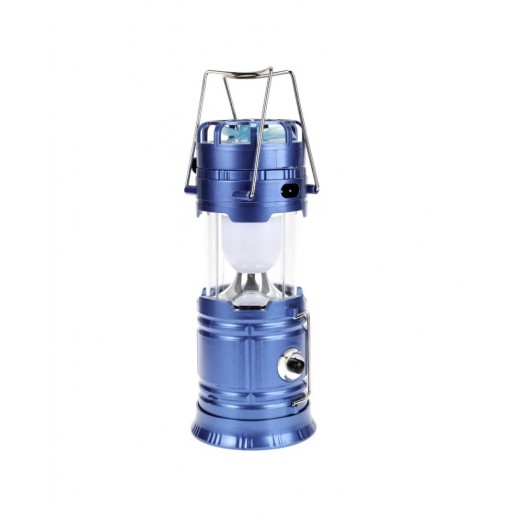 Solar Powered Collapsible LED Camping Light with Fan