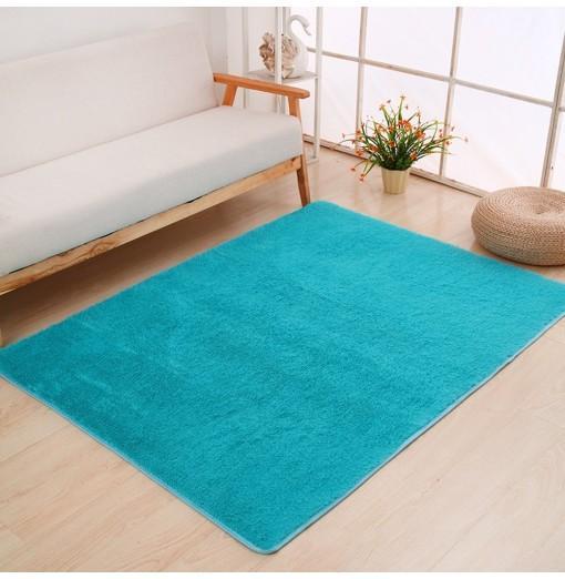 Door Rug Simple Fresh Style Rectangle Yoga Mat