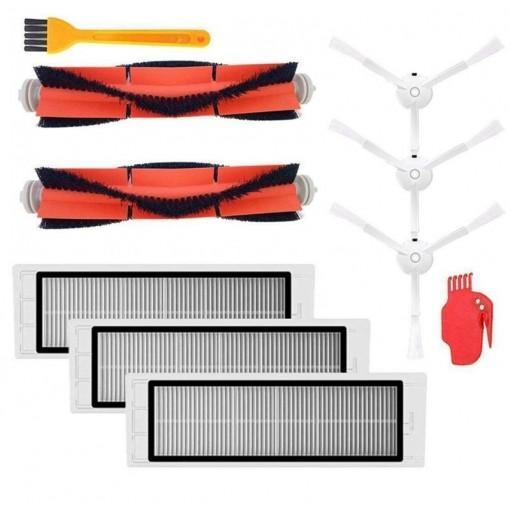 10PCS Vacuum Robot Accessories Kit for Xiaomi Robot Vacuum
