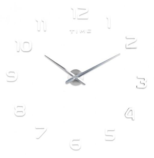 M.Sparkling 3D Mirror Effect Stickers Number Figure DIY Wall Clock Home Decoration