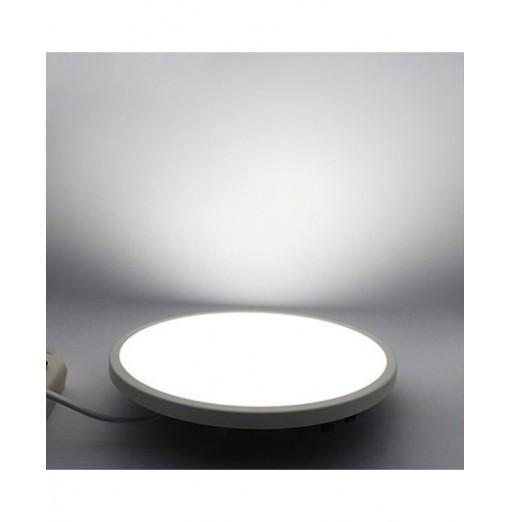 JIAWEN Ultrathin 6W LED Panel Light Ceiling Hole Size Range Adjustable Recessed Downlight Lamp AC85 - 265V