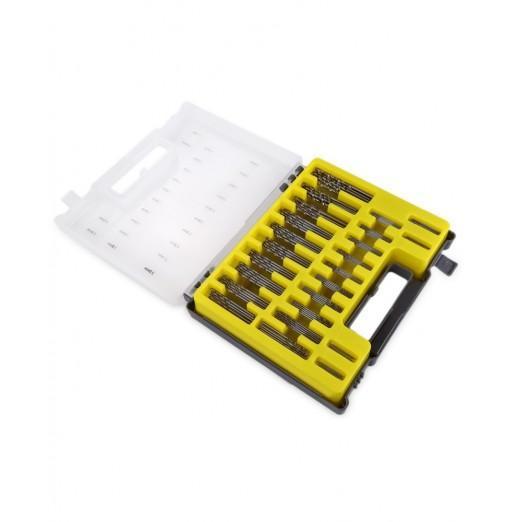 150pcs High-speed Steel 0.4 - 3.2mm Mini Precision Twist Drill Bit Tool with Case