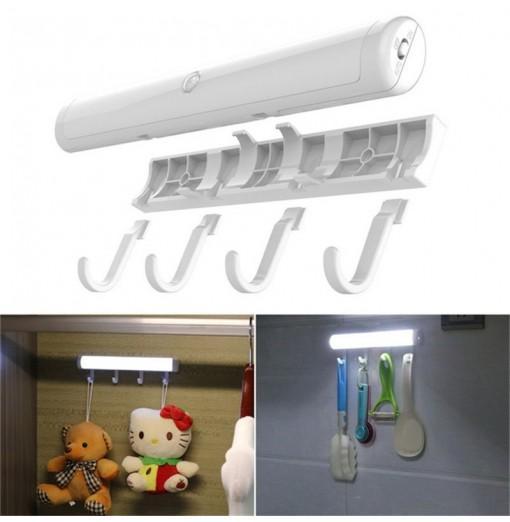 Smart LED Human Body Induction Lamp Light Hook