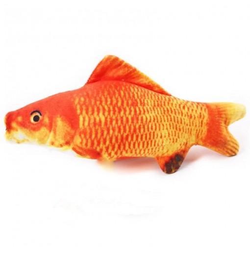Fish Catnip Toys Cat Toys Simulation Plush Fish Shape Toy Doll Interactive Pets