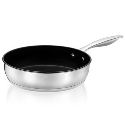 Durable Multipurpose Stainless Steel Frying Pan