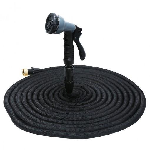 Expandable Garden Hose Pipe with 8 in 1 Spray Gun
