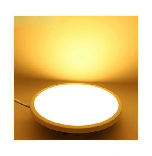 JIAWEN Ultrathin 20W LED Panel Light Ceiling Hole Size Range Adjustable Recessed Downlight Lamp AC85 - 265V