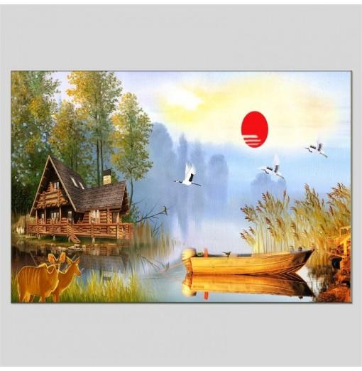 Hua Tuo Landscape Style Oil Painting HT-1170527