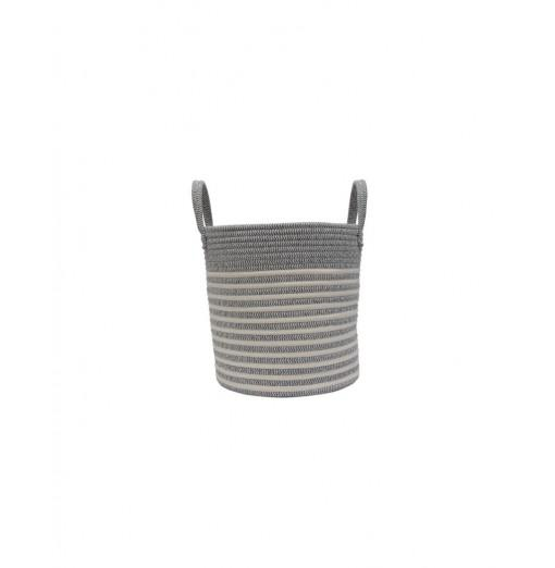 Cotton Rope Storage Basket with Handle