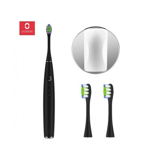 Oclean one Electric Toothbrush Set with 2 Brush Heads and 1 Wall-mounted Holder
