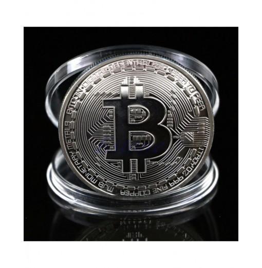 Collectible Gift BTC Art Collection Physical Bitcoin Commemorative Coin