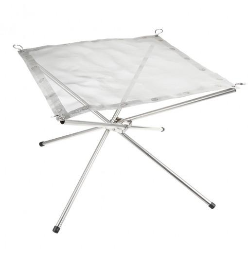 Selpa Portable Folding Stove Fire Frame with Stainless Steel Net