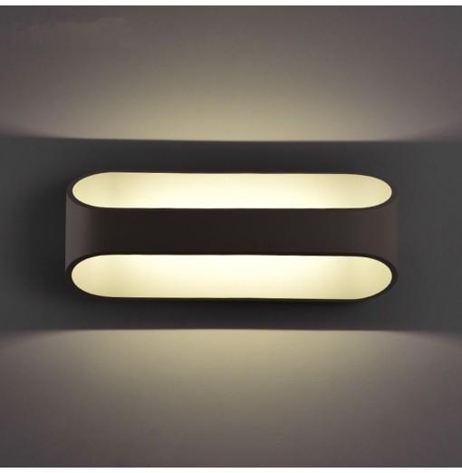 Everflower Modern Max 5W Led Bedroom Wall Lamps Fixture Decorative Lamps Night Light for Pathway Staircase Bedroom Living Room
