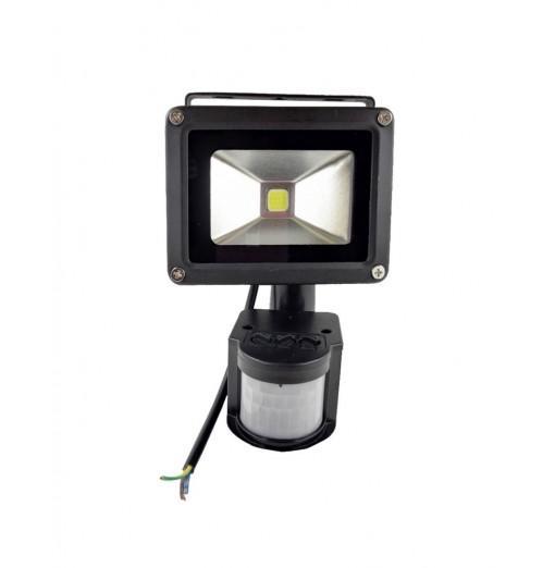 10W Waterproof 800LM PIR Motion Sensor Security LED Flood Light 85-265V