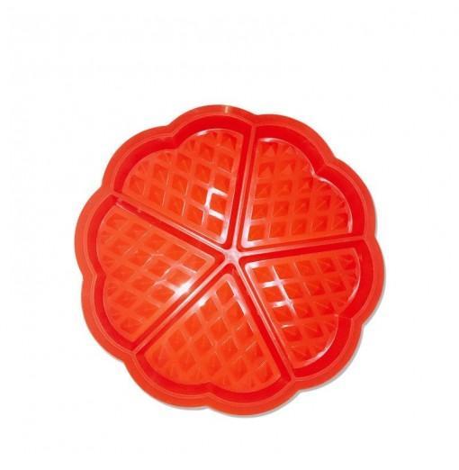 DIHE Heart - Shaped Waffle Cake Baking Mold 5Grid Originality