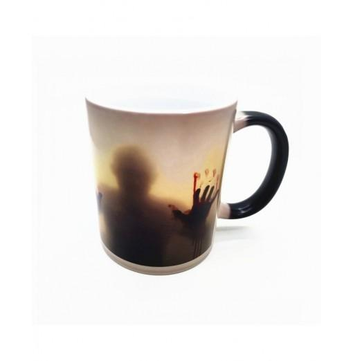 Creative Color Changing Creepy Ceramic Cup Mug