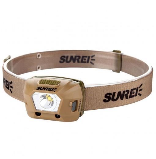 SUNREI Rechargeable Smart Sensor Fishing Headlight