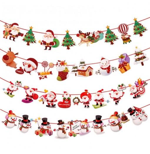 Merry Christmas Decorations for Home 4PCS