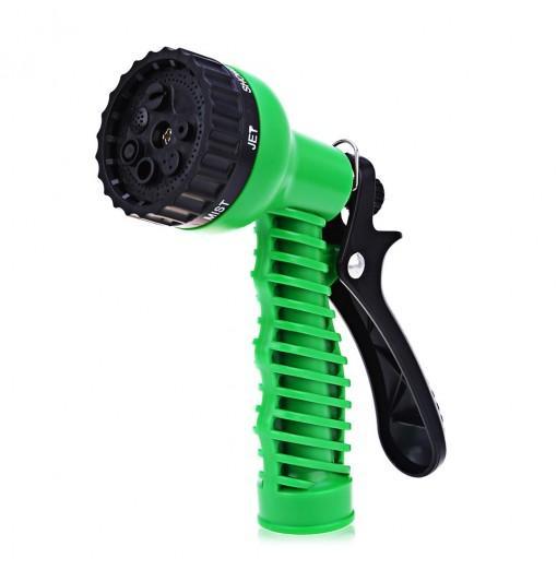 Multifunction 7-pattern Plastic Watering Nozzle Car Washing Garden Water Gun Spray High Pressure